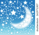 blue christmas background | Shutterstock . vector #161971307