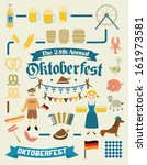 oktoberfest retro creation kit  ... | Shutterstock .eps vector #161973581