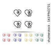heart  plus  check  minus sign...