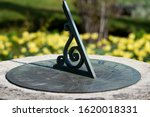Sundial In The Sunshine With...
