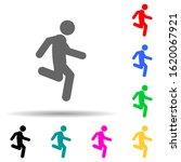 run  fast multi color style...