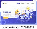technology  digital world...   Shutterstock .eps vector #1620090721