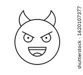 devil  emotions icon. simple...