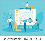 business consulting analytics... | Shutterstock .eps vector #1620121531