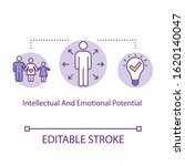 intellectual and emotional... | Shutterstock .eps vector #1620140047