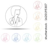 avatar of female doctor in...