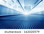 escalator  interior of the