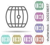 barrel  italy in multi color...