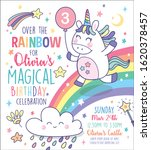 birthday party invitation card... | Shutterstock .eps vector #1620378457