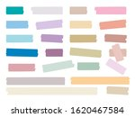 sticky strips. colored... | Shutterstock .eps vector #1620467584
