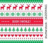 buon natale card   scandynavian ...   Shutterstock .eps vector #162054461