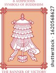 ashtamangala  8 auspicious...   Shutterstock .eps vector #1620568627
