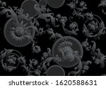 seamless pattern  background in ... | Shutterstock .eps vector #1620588631