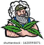 mascot icon illustration of an... | Shutterstock .eps vector #1620593071