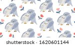 seamless pattern with cute... | Shutterstock .eps vector #1620601144