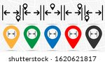 gap  text icon. simple glyph...