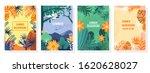 vector set summer background ... | Shutterstock .eps vector #1620628027
