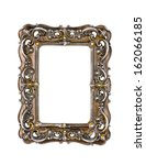 vintage frame isolated on white ... | Shutterstock . vector #162066185