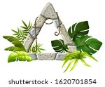 stone board decoration tropical ...   Shutterstock .eps vector #1620701854