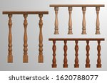 wooden banister or fencing... | Shutterstock .eps vector #1620788077