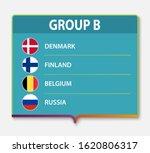 european football tournament... | Shutterstock .eps vector #1620806317