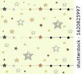 cute star background on white | Shutterstock . vector #1620825997