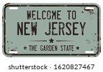 welcome to new jersey. vector... | Shutterstock .eps vector #1620827467