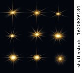 bright flash star. transparent... | Shutterstock .eps vector #1620839134