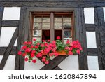 Beautiful Old Window Frame With ...
