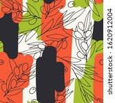 seamless vector pattern olives. ...   Shutterstock .eps vector #1620912004