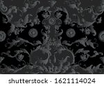 seamless pattern  background in ... | Shutterstock .eps vector #1621114024