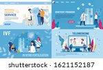 woman in vitro fertilization ... | Shutterstock .eps vector #1621152187
