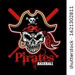 pirates baseball team design...   Shutterstock .eps vector #1621302811