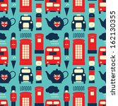 seamless repeat pattern with... | Shutterstock .eps vector #162130355