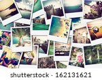 mosaic with pictures image of... | Shutterstock . vector #162131621