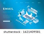 illustration of online... | Shutterstock .eps vector #1621409581