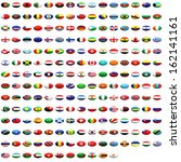 world flag collection | Shutterstock . vector #162141161