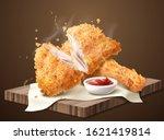 Delicious Crispy Fired Chicken...