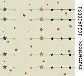 modern gradient golden frame... | Shutterstock . vector #1621438891