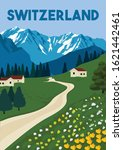 Switzerland Vector Illustratio...