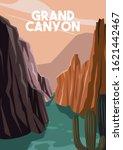 Grand Canyon Arizona Vector...