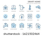 smart home icons  such as... | Shutterstock .eps vector #1621502464