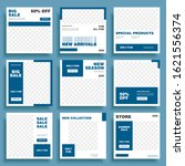 social media banner. modern... | Shutterstock .eps vector #1621556374