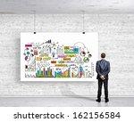 image of businessman standing... | Shutterstock . vector #162156584