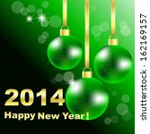 vector illustration of green... | Shutterstock .eps vector #162169157