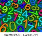 digital background.  from zero... | Shutterstock . vector #162181394