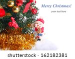composition with a christmas... | Shutterstock . vector #162182381