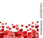 valentines day background... | Shutterstock .eps vector #1621827511
