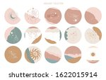 big set of round icons for... | Shutterstock .eps vector #1622015914