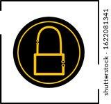 padlock icon template  vector... | Shutterstock .eps vector #1622081341